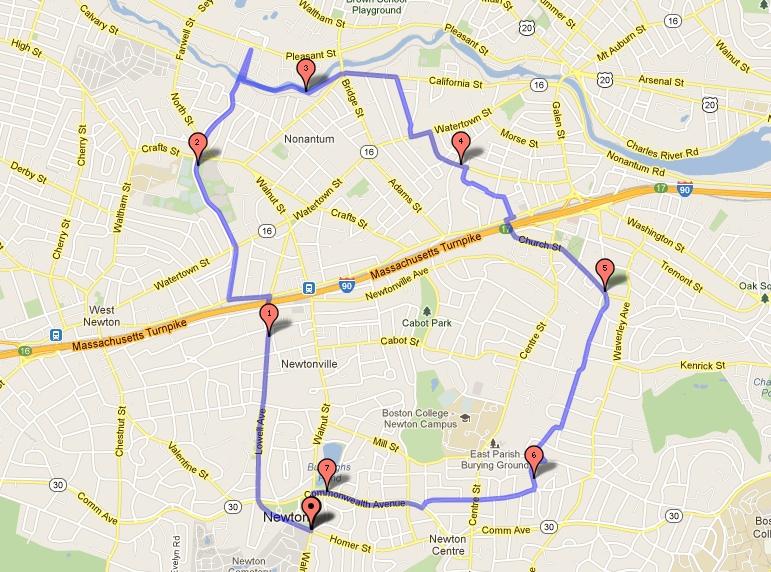 Maps Bike Newton